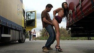 European hottie who gets bound