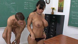 Fuck my teacher!