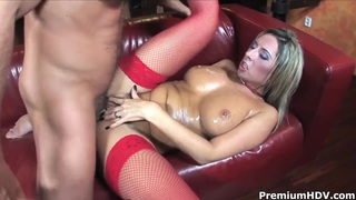 Blonde cock addicted whore Daria Glower gets rammed
