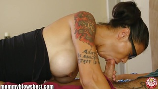 MommyBB Dana Vespoli sucking hard cock