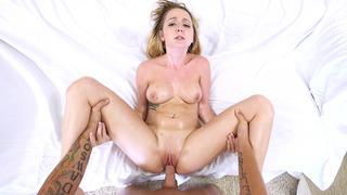 Busty amateur bitch Iris Rose got dicked in POV