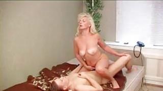 Mature Blonde Russian Woman
