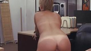 Desperate waitress bangs for cash