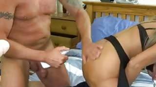 Kinky BDSM games with busty slave Silvia
