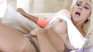 Blonde Marsha Mays first anal fucking