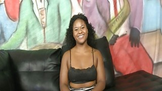 Chocolate teen girl mean face fucking