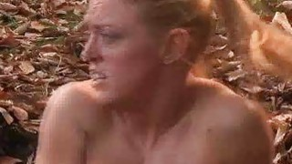Busty Girl Trapped in Quicksand!