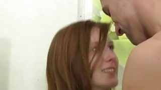 Extreme brutal anal teen and anal deepthroat facial teen Redhead