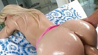 Huge ass blondie Loren Nicole slammed