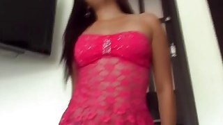 Hot Amateur Latina Salome Gets Dicked Down By Endowed Stranger