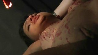 Short hair teen gets candle wax on tits rough sex