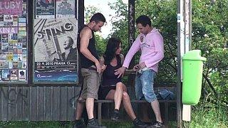 Bus stop banging